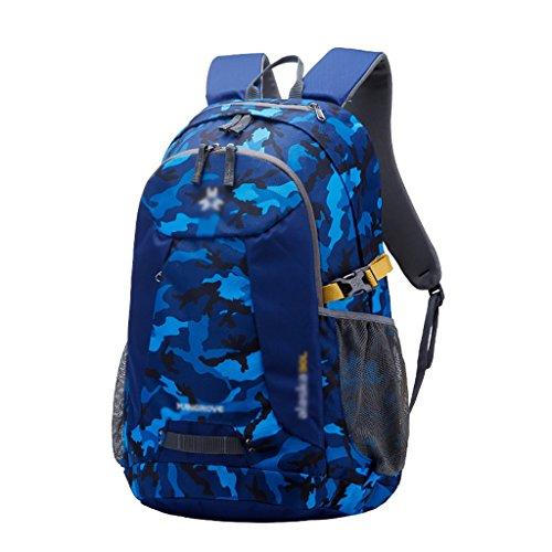 HWLXBB Outdoor Bergsteigen Tasche Männer und Frauen 30L Wasserdichte Mehrzweck-Bergsteigen Tasche Wandern Camping Bergsteigen Freizeit Rucksack Rucksack B