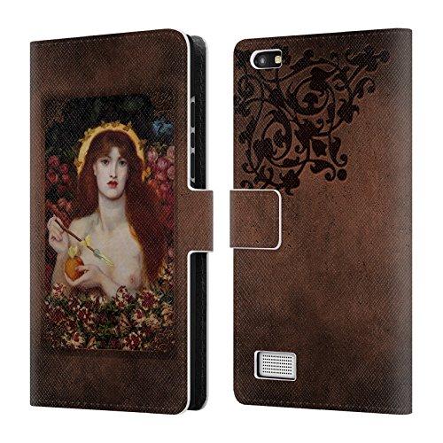Offizielle Brigid Ashwood Rossetti 1 Präraffaeliten Brieftasche Handyhülle aus Leder für BlackBerry Leap