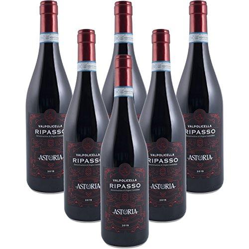 Confezione 6 bottiglie Ripasso della Valpolicella 2015 DOC Vino Rosso Astoria Vini Classici del Veneto