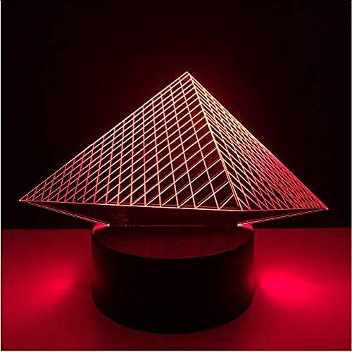 3D Illusion Lampe 7 Farben LED Touch Tischleuchte mit Fernbedienung Nachtlicht Für Schlafzimmer Home Decoration Hochzeit Art Deco Lampen LED Nachtlampe der 3D Farbe die geführte Lichter