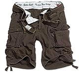 Surplus Division Herren Cargo Shorts, braun, XXL