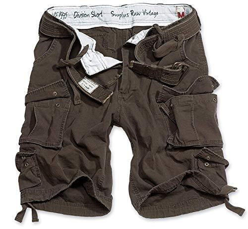 Surplus Division Herren Cargo Shorts, braun, 5XL Cargo Capris