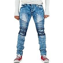 498415301eda Ital-Design Justing Destroyed Biker Jeans Für Herren