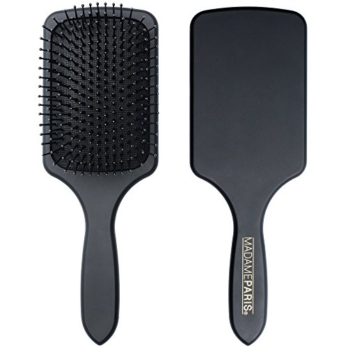 Damen-rutsch-griffe (MadameParis – Die Beste Paddle Brush – Paddle Brush Top Modell - Flache Bürste – Friseur Bürste – Professionelle Haarbürste)