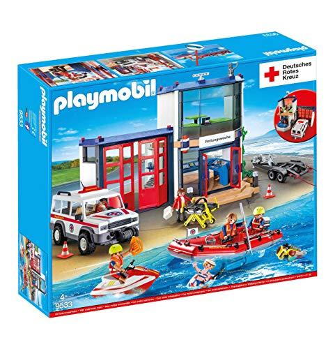 Playmobil 9533DRK Mega Set Salvavidas Comisaría