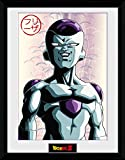 GB eye Dragonball Z Poster Gerahmt Frieza 45 x 34 cm
