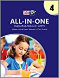 ALL-IN-ONE (English, Hindi, Mathematics and EVS) Class 4 DAV (2018-19 Session)