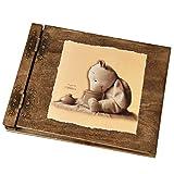 Fotoalbum für Kinder mit 50 schwarzen 300g Karton Seiten