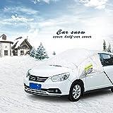 Raiphy Copertura Parasole Invernale Anti-Gelo per Parabrezza Auto Contro Neve ,Gelo ,Sole ,Pioggia,Ghiaccio, Polvere -2 (Fit SUV / Cross-Country)