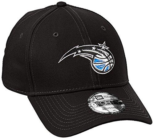 New Era Herren NBA Team 9FORTY Orlando Magic Offizielles Team Farbe Baseball Cap, Schwarz, One size