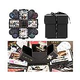 EKKONG esplosione box scrapbook creative DIY photo album - Album fotografico fai da te Album fotografico creativo per il regalo di compleanno di compleanno anniversario di San Valentinoi