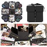 EKKONG Creative Surprise Box, Explosion Box, DIY Folding Photo Album Birthday, Anniversary, Valentines' Day, Weddings, Mother's Day, DIY Gift