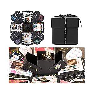 EKKONG Kreative Überraschung Box Explosions-Box DIY Faltendes Fotoalbum,Geburtstag Jahrestag Valentine Hochzeit Geschenk…