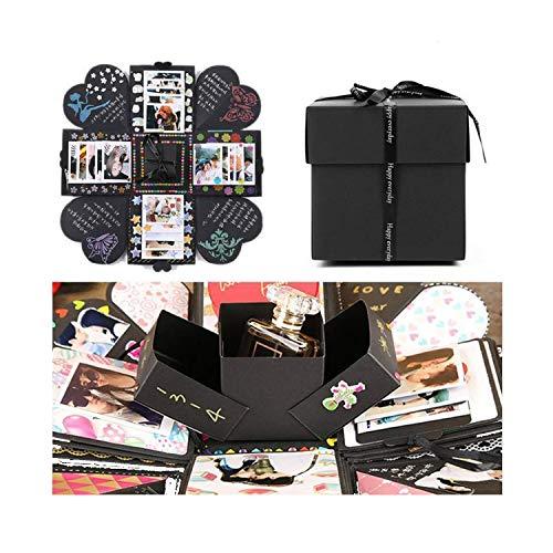 EKKONG-Kreative-berraschung-Box-Explosions-Box-DIY-Faltendes-FotoalbumGeburtstag-Jahrestag-Valentine-Hochzeit-Geschenk-fr-Hochzeit-Muttertag-DIY-Geschenk