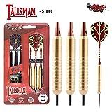 Shot! Darts Talisman-Steel Tip Dart Set-24gm-Centre Weighted-Steel Barrels