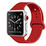 ZRO Cinturino for Apple Watch, Morbido Silicone Braccialetto...