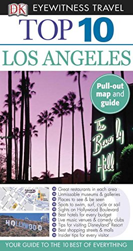 Top 10 Los Angeles [With Map] (Dk Eyewitness Top 10 Travel Guides) por Catherine Gerber