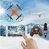 Hanbaili Drone S10 con telecomando Quadcopter Drone con telecamera Trasmissione...
