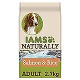 IAMS Naturally Adult Dog Salmon and Rice