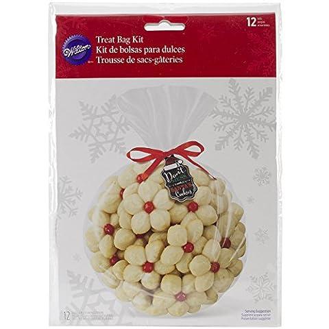 Wilton Weihnachten Sweet Swap klar Treat Bag Kit, (Cookies For Christmas Cookie Swap)