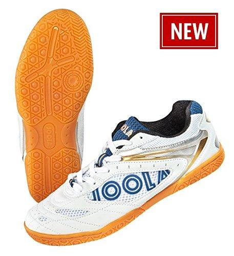 JOOLA Schuh Court, weiß/blau, 43