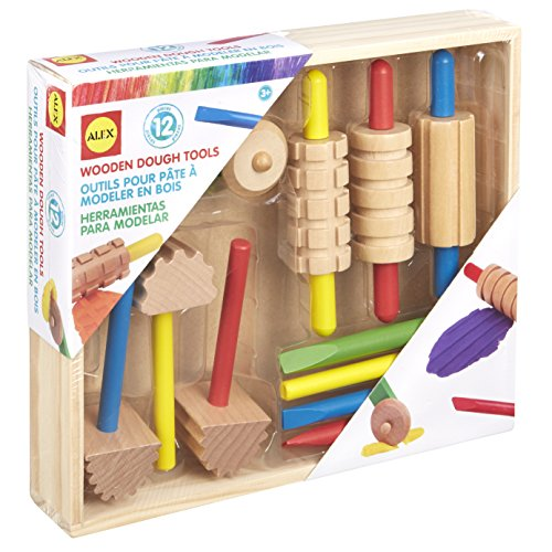 Alex Toys Various Wooden Dough tool Set