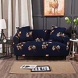 D-Park Elastischer Polyester Spandex Soft Stretch Couch Cover Sofa trägerlose Überzüge Protector - 3 Größen zur Auswahl