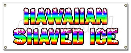 hawaiian-shaved-ice-banner-sign-hawaian-cart-stand-icee-icy-signs-by-signmission