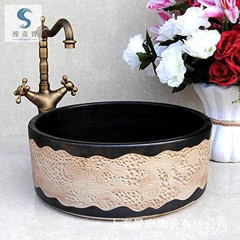 Vaso bagno lavandino arte Lavabo,Arte Ceramica bacino