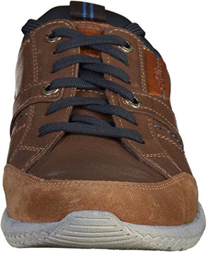 s.Oliver Herren 13600 Sneaker Braun (Tan)