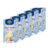 Krüger Chai Latte Classic India weniger süß, Vanille-Zimt, mildes Milchtee Getränk, 5er Pack, 5 x 10 Portionsbeutel