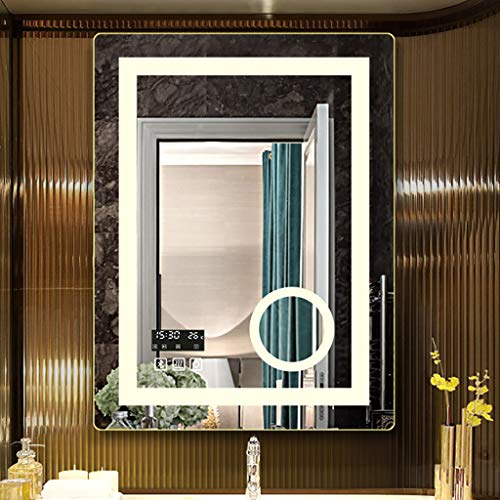 Espejo de baño Iluminado con iluminación LED Inteligente con Interruptor táctil a...
