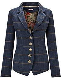 Joe Browns Womens Button Up Check Jacket