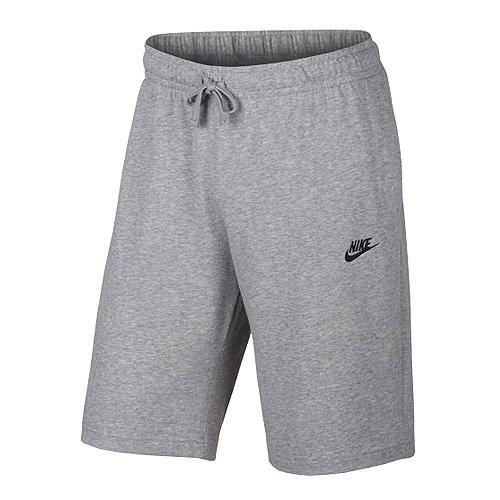Nike Herren Nsw JSY Club Trainingsshorts - Grau (Birken Heidekrautgrau/Schwarz), XL
