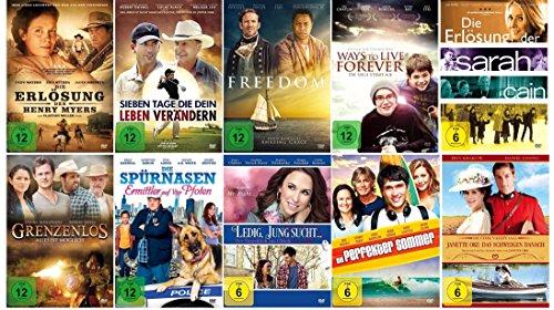 Die 10 herzergreifendsten Glaubensfilme über den Sinn des Lebens - Die ultimative Collection [10 DVDs]