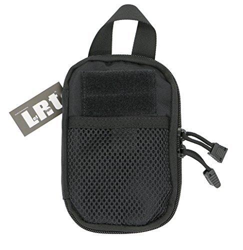 Lefright Mini Táctica Molle EDC bolsa de organizador de bolsillo compacto (Negros)
