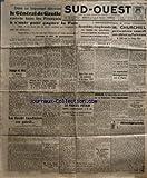 Telecharger Livres SUD OUEST No 230 du 25 05 1945 DANS UN IMPORTANT DISCOURS LE GENERAL DE GAULLE CONVIE TOUS LES FRANCAIS A SOCOUNIR POUR GAGNER LA PAIX LOCOECHANGE DES BILLETS UNE IMPORTANTE MISE AU POINT DU MINISTERE DES FINANCES REFORME DE LA FONCTION PUBLIQUE NATIONALISATION DE LA PRODUCTION DU CHARBON ET DE LOCOELECTRICITE ET DE LA DISTRIBUTION DU CREDIT UN MESSAGE DU GENERAL DE GAULLE AU RESIDANT GENERAL DU MAROC MM GEORGES BIDAULT ET BILLOUX SONT ARRIVES A PARIS LA FORET LANDAISE EN PERIL (PDF,EPUB,MOBI) gratuits en Francaise