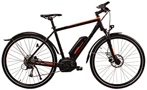 Herren E-Bike Cross 28 Zoll - Hercules Rob Cross Sport LTD - Bosch Motor, Akku 500WH, schwarz-orange