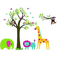 Removable Wall Sticker – Zoo Party 5071