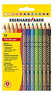 Eberhard Faber - Lápices de colores (EF518412) Importado