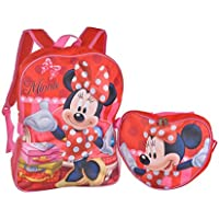 Backpack - Disney - Minnie Mouse - Red Heart Lunch Bag (Large School Bag) preisvergleich bei kinderzimmerdekopreise.eu