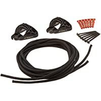 LA SIESTA Home Rope Black - Sujeción para hamacas en paredes y techos