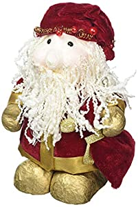 GiviItalia 45128 - Marioneta de Navidad, multicolor, 16 cm