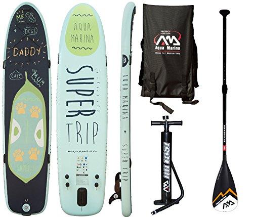 AQUA MARINA Super Trip Board mit Standard Paddel… | 04211058187179