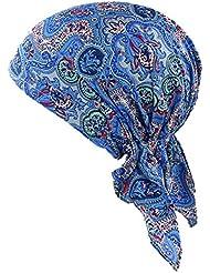 ZYCC Unisex Bandana Hut Baumwolle Gedruckt Turban Kopfbedeckung für Krebs, Chemo, Haarausfall