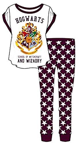 HARRY POTTER, Ladies & Older Girl's Pyjamas Set, Size 8-10, 12-14, 16-18 & 20-22