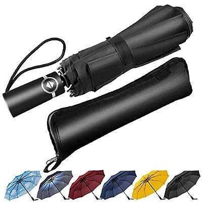 Newdora Regenschirm Taschenshirm Stockschirm