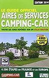 Le guide officiel des aires de services camping-car