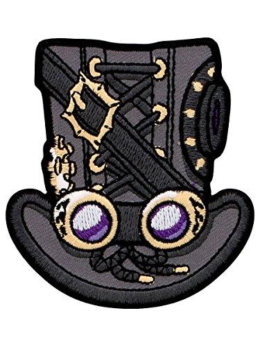 Grindstore Aufnäher Steampunk Top Hat
