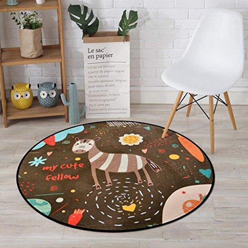 Yan tappeto tappeto, tappeto, bambini 's cots soggiorno tappeto camera da letto, sedie per computer tappetino, balconi casa tappeto cesto appeso,diametro 80 cm